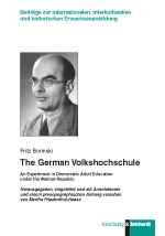 Borinski, Fritz : The German Volkshochschule