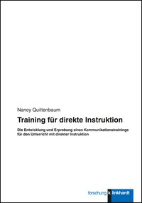 Quittenbaum, Nancy : Training für direkte Instruktion